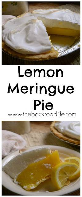 Classic lemon meringue pie. Wonderfully tart with a creamy meringue that is a family favorite.