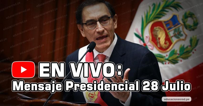 EN VIVO: Mensaje Presidencial (28 Julio 2018) Mensaje a la Nación Martín Vizcarra - TV PERÚ HD - www.tvperu.gob.pe
