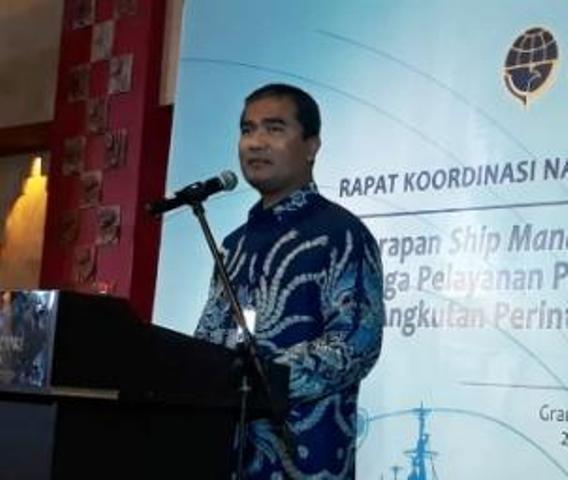 Hubla Dorong Operator  Angkutan Laut Perintis dan Tol Laut Terapkan Ship Manajemen
