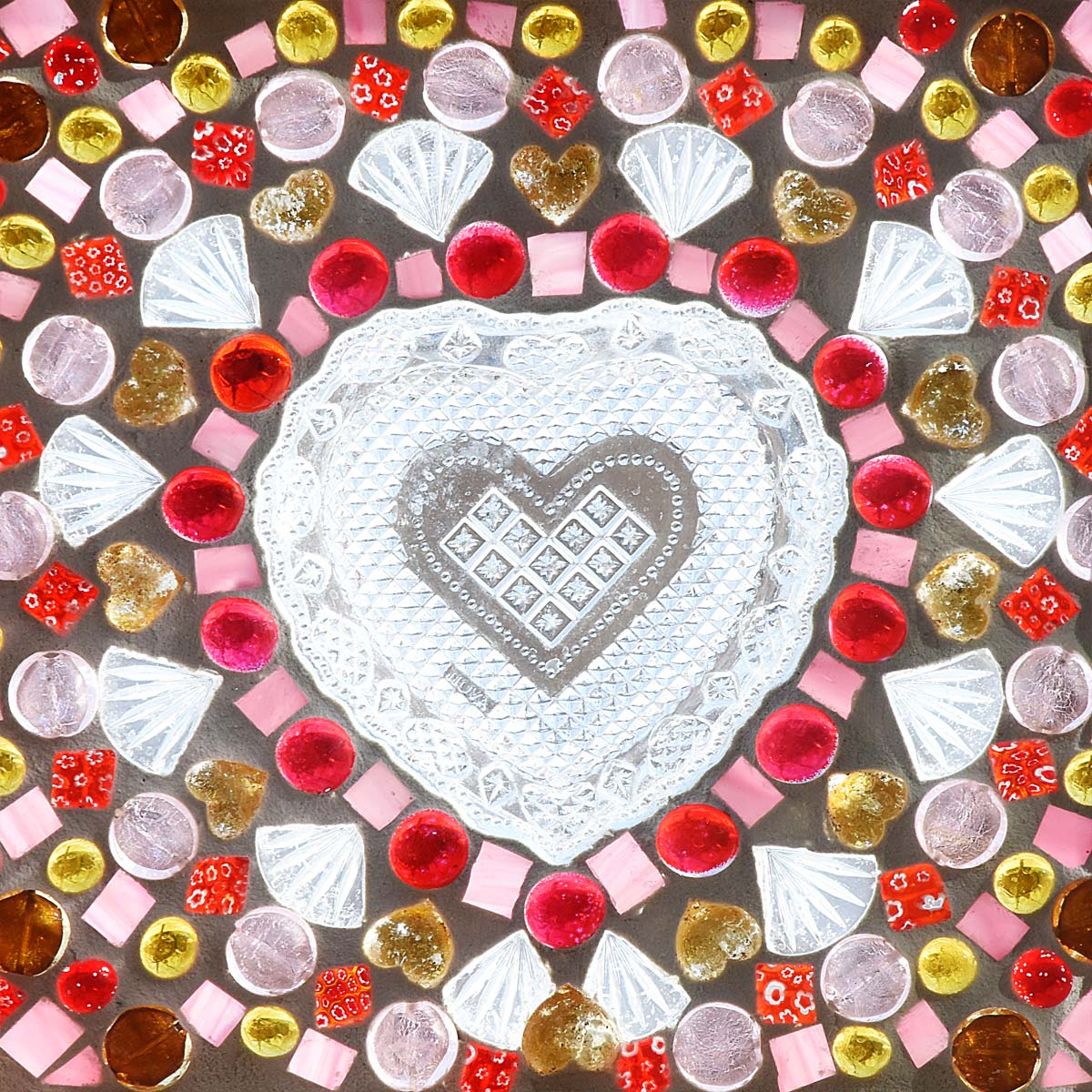 Valentine heart mosaic by Selep Imaging