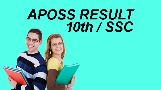 APOSS SSC Result 2018
