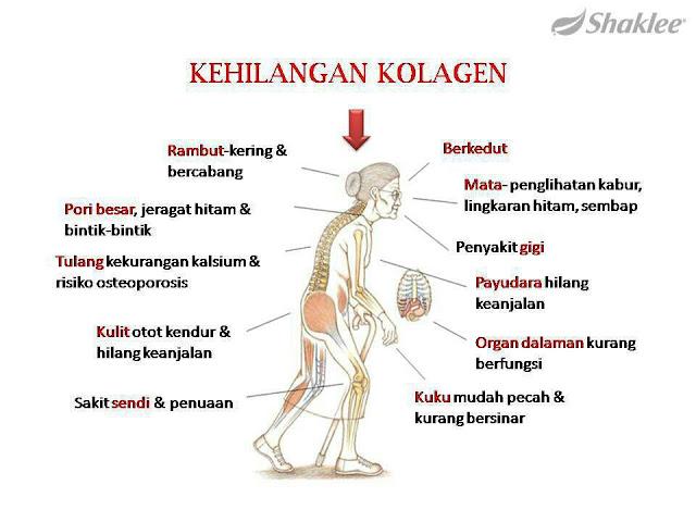 Kesan kekurangan kolagen dalam badan kita