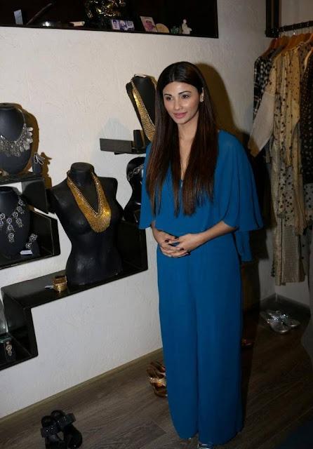 Daisy Shah Stills At Fashion Designer Rajat Tangri Studio