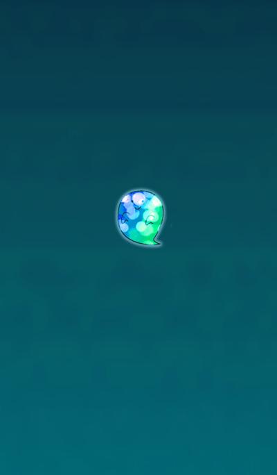 Cute Blue Ghost