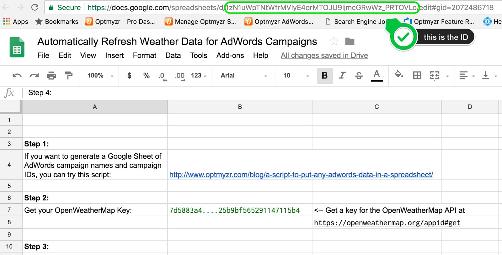 Automatically Refresh Weather Data In A Spreadsheet Free Adwords Scripts