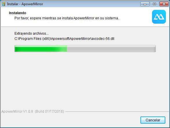 ApowerMirror 1.0.9 PC Full Español (Controla tu Android en PC)