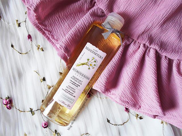Manufaktura Sedmokráska upokojujúca pleťová voda s mandľovým olejom a sedmokráskou pre citlivú pokožku