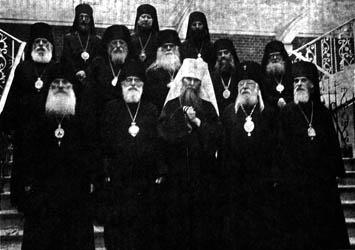 Определение Собора РПЦЗ 1971 г. по вопросу о крещении принимающих Православие еретиков