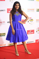 Eesha in Cute Blue Sleevelss Short Frock at Mirchi Music Awards South 2017 ~  Exclusive Celebrities Galleries 046.JPG