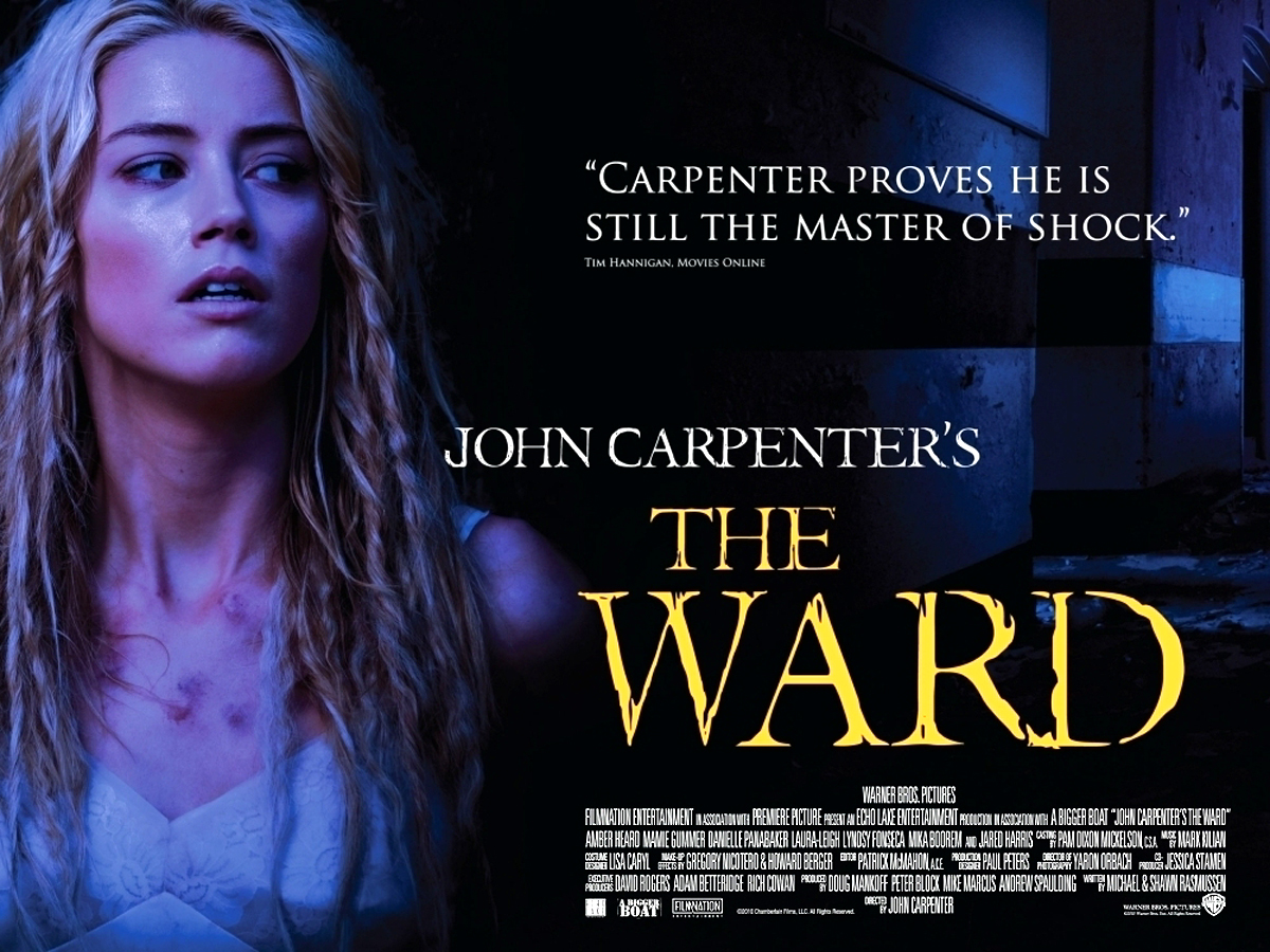 2010 Movie Posters: MOVIE POSTERS: THE WARD (2010