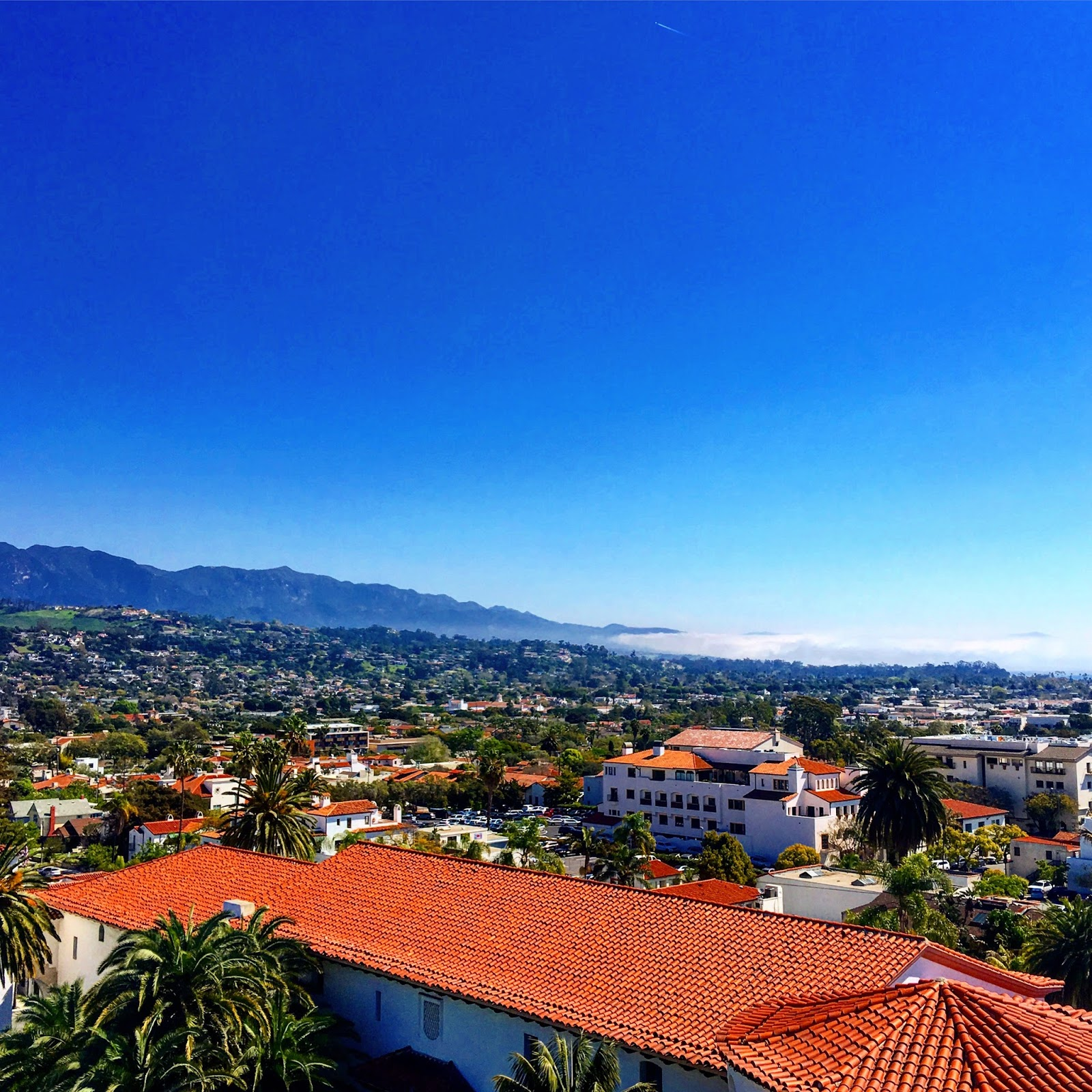 Things to do in Santa Barbara, Views from the Santa Barbara court house