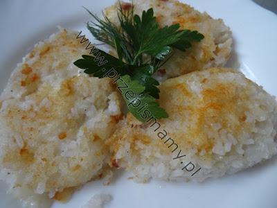 Krokiety ryżowe z serem żółtym