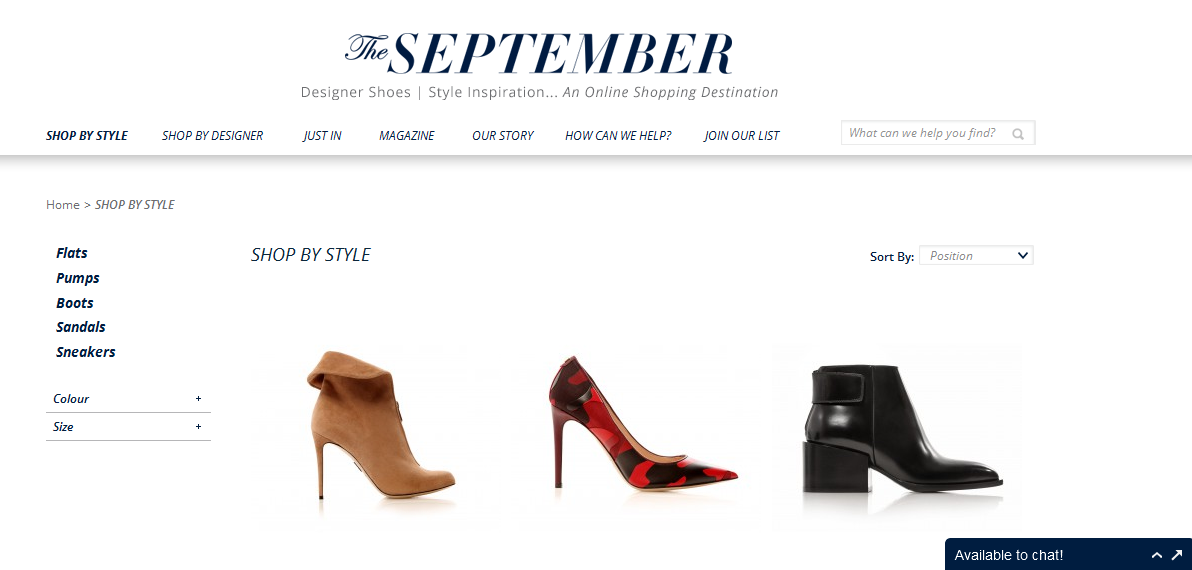 the september website