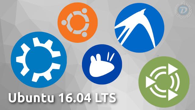 Ubuntu 16.04 LTS Flavors download