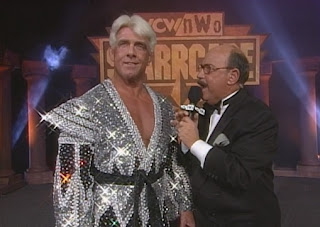 WCW Starrcade 1998 Review - Ric Flair interviewed by Mean Gene Okerlund