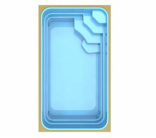 Saiba qual é o preço piscina de fibra Bari TP465