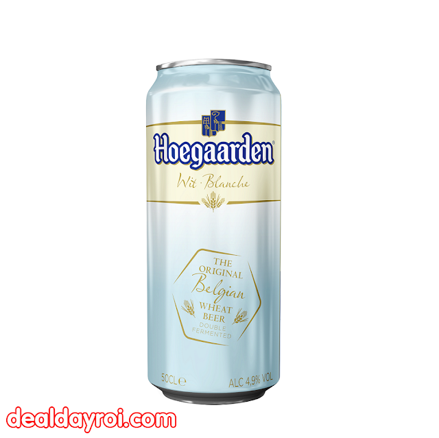 HOEGAARDEN LON, vua bia, deal đây rồi, deal khuyến mãi