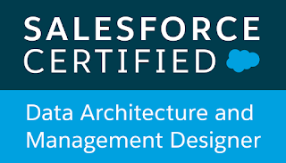 Salesforce Certified Data Architect and Management Designer verification for Richard Upton