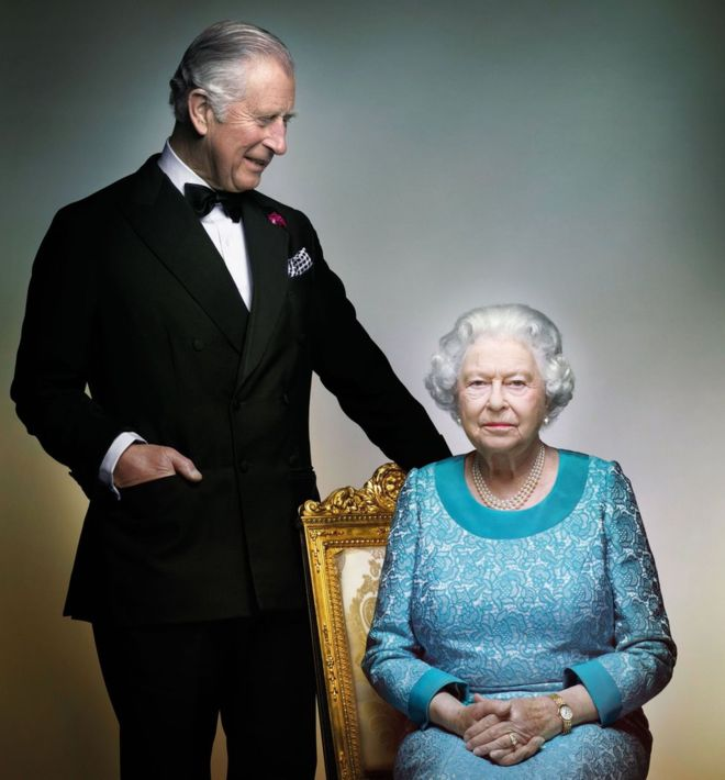 Queen's 90th birthday portrait released