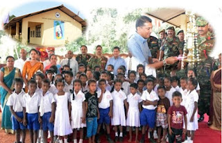 Roshan Mahanama Primary School at Weherathenna