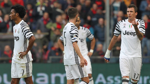 Genoa 3-1 Juventus: Simeone Jr. bags two as Serie A champions stunned
