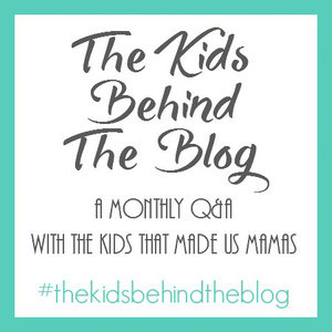 While I'm Waiting...The Kids Behind the Blog - June edition