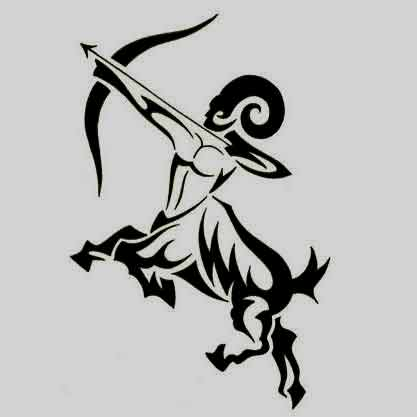 55 best sagittarius tattoos designs and ideas with meanings. Black Bedroom Furniture Sets. Home Design Ideas