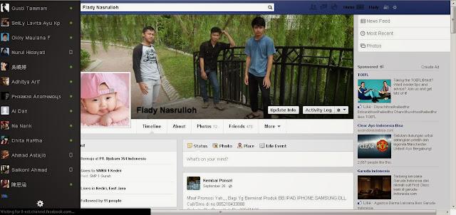Cara Merubah Tampilan Tema FB ke Tampilan Keren Terbaru 2017