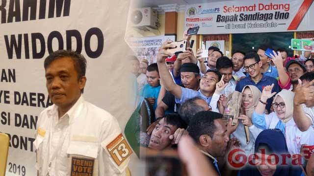 Didzalimi Rudi Uno, Masyarakat Gorontalo Makin Simpati dan Solid Dukung Sandiaga Uno