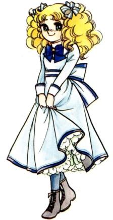 Imagen de Candy de cuerpo entero con uniforme