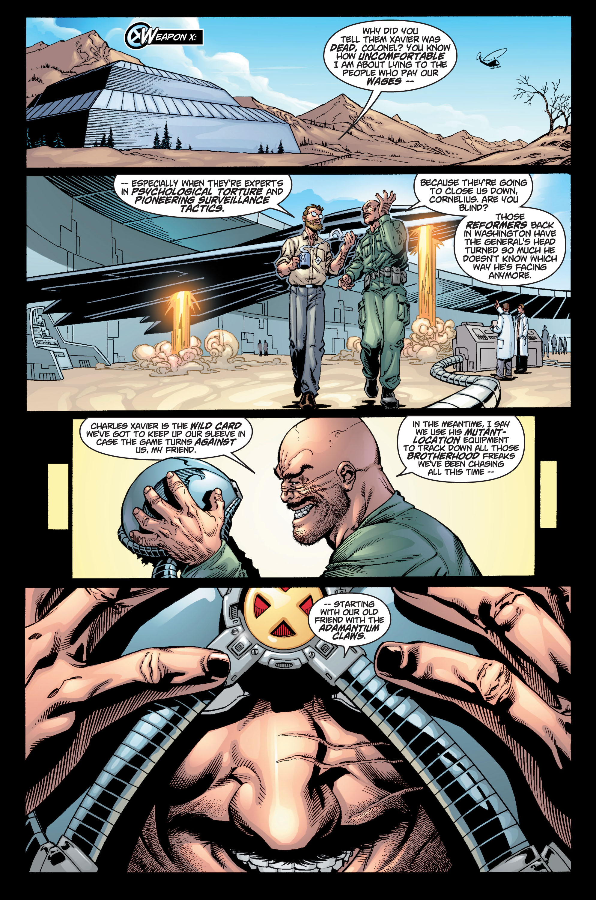 Read online Ultimate X-Men comic -  Issue #9 - 24