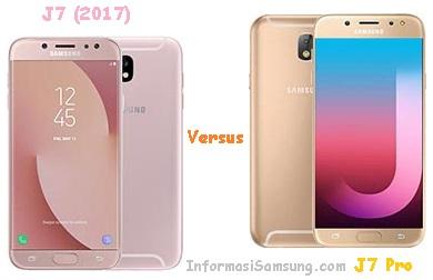 Samsung Galaxy J7 (2017) vs J7 Pro