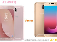 Perbandingan Samsung Galaxy J7 (2017) vs J7 Pro
