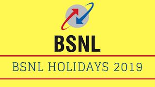 BSNL-HOLIDAYS-2019