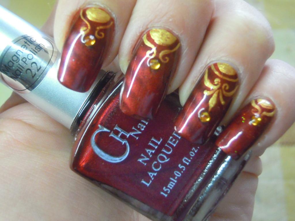 - Lnetsa 's nailart: Indian wedding nailart