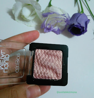 CATRİCE LİQUİD METAL EYESHADOWS 120 -SATINA VAN DER WOODSEN-