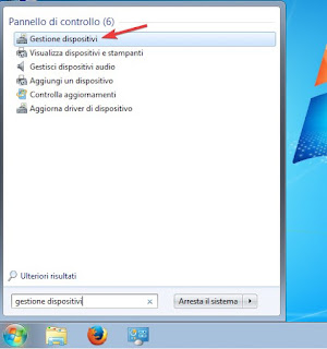 Dispositivi Windows 7