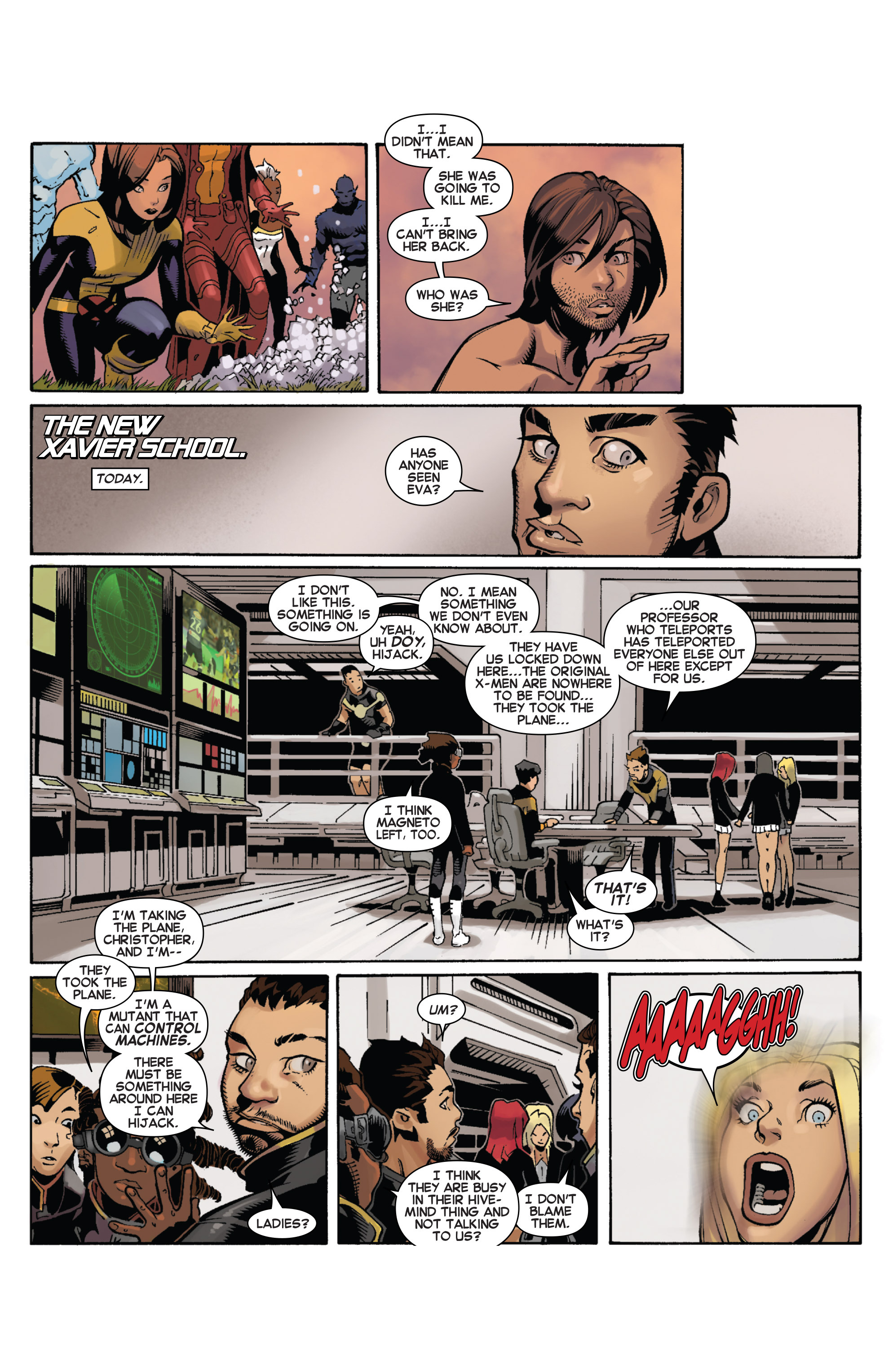 Read online Uncanny X-Men (2013) comic -  Issue # _TPB 5 - The Omega Mutant - 92