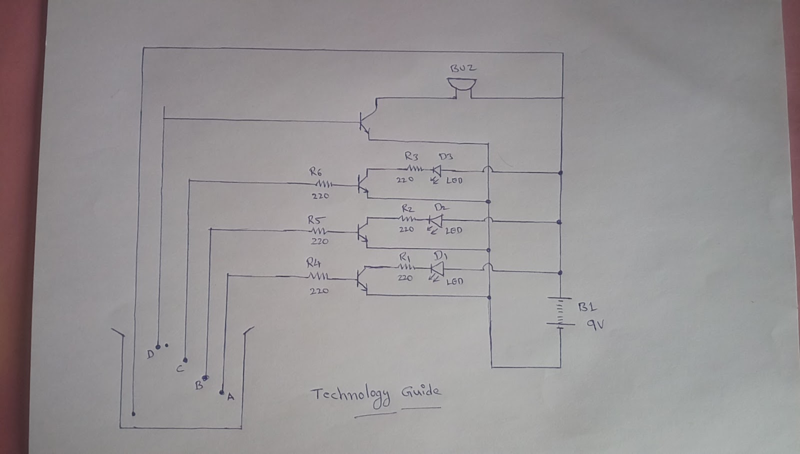 How To Make Simple Water Level Indicator Alaram At Home Homemade Metal Detector Circuit 555 Diagram