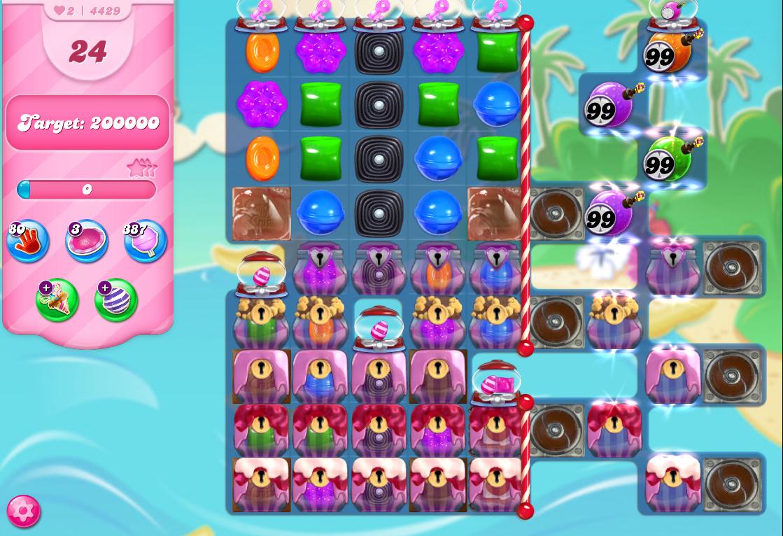 Candy Crush Saga level 4429