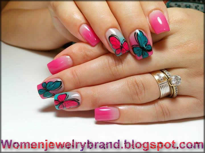 New Style For Paint At Nail 2016 For Modern Girls Women Jewelry
