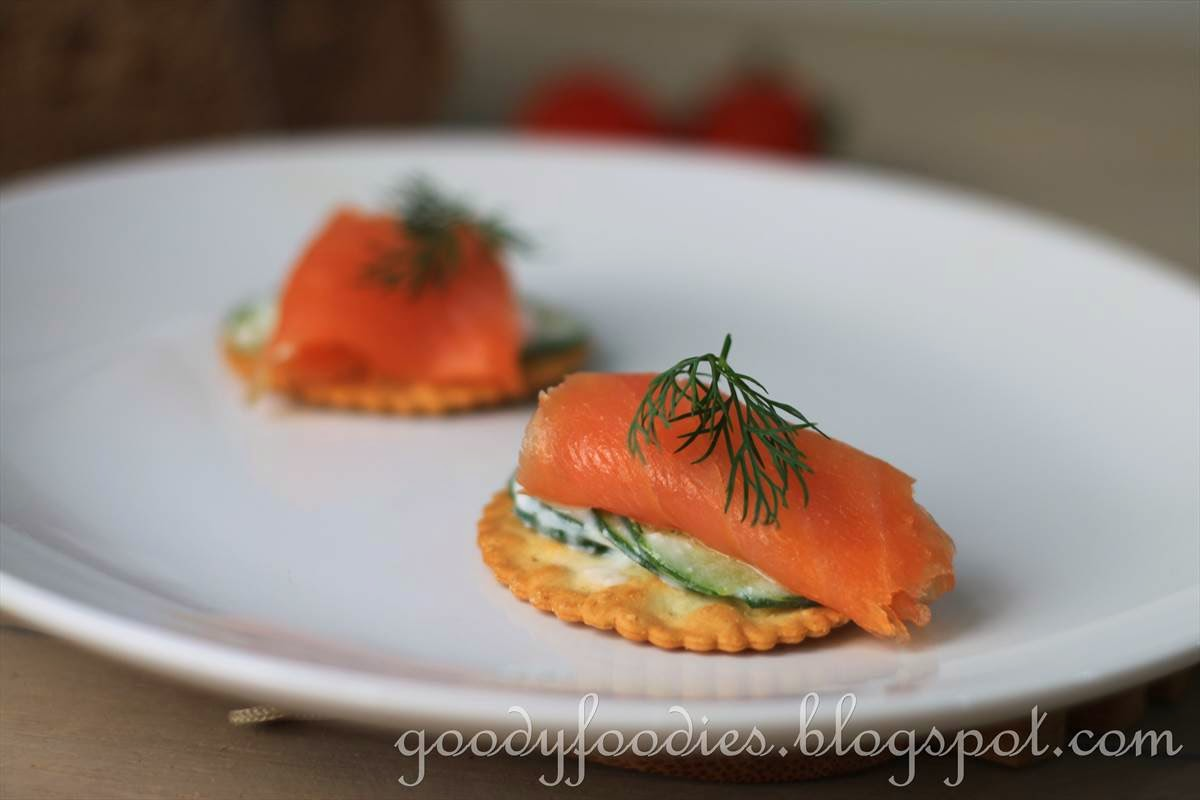 Goodyfoodies recipe smoked salmon and yogurt cucumber for Canape 9 0 download