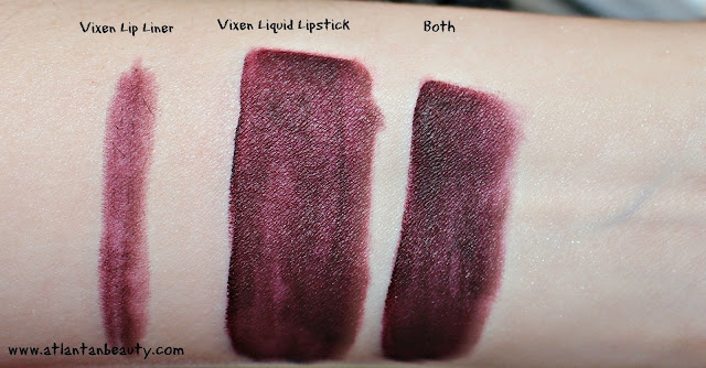 Kylie Cosmetics Lip Kit in Vixen Review and Swatches