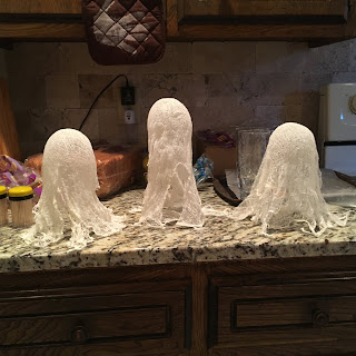 Cheesecloth Ghosts without Starch