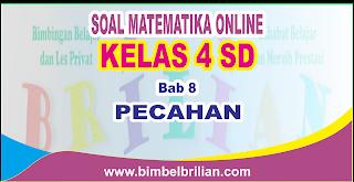 Soal Matematika Online Kelas 5 SD Bab 8 Pecahan - Langsung Ada Nilainya