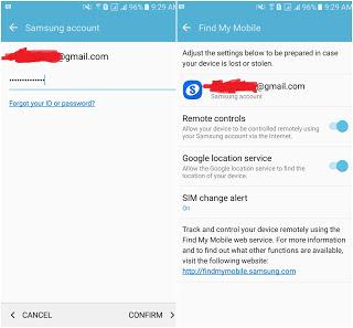 Tips Mengamankan HP Samsung Android Sebelum Hilang