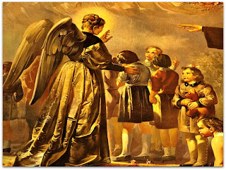 'Teresinha entre As Crianças', Aldo Locatelli (1955) - Igreja Santa Teresinha (Detalhe)