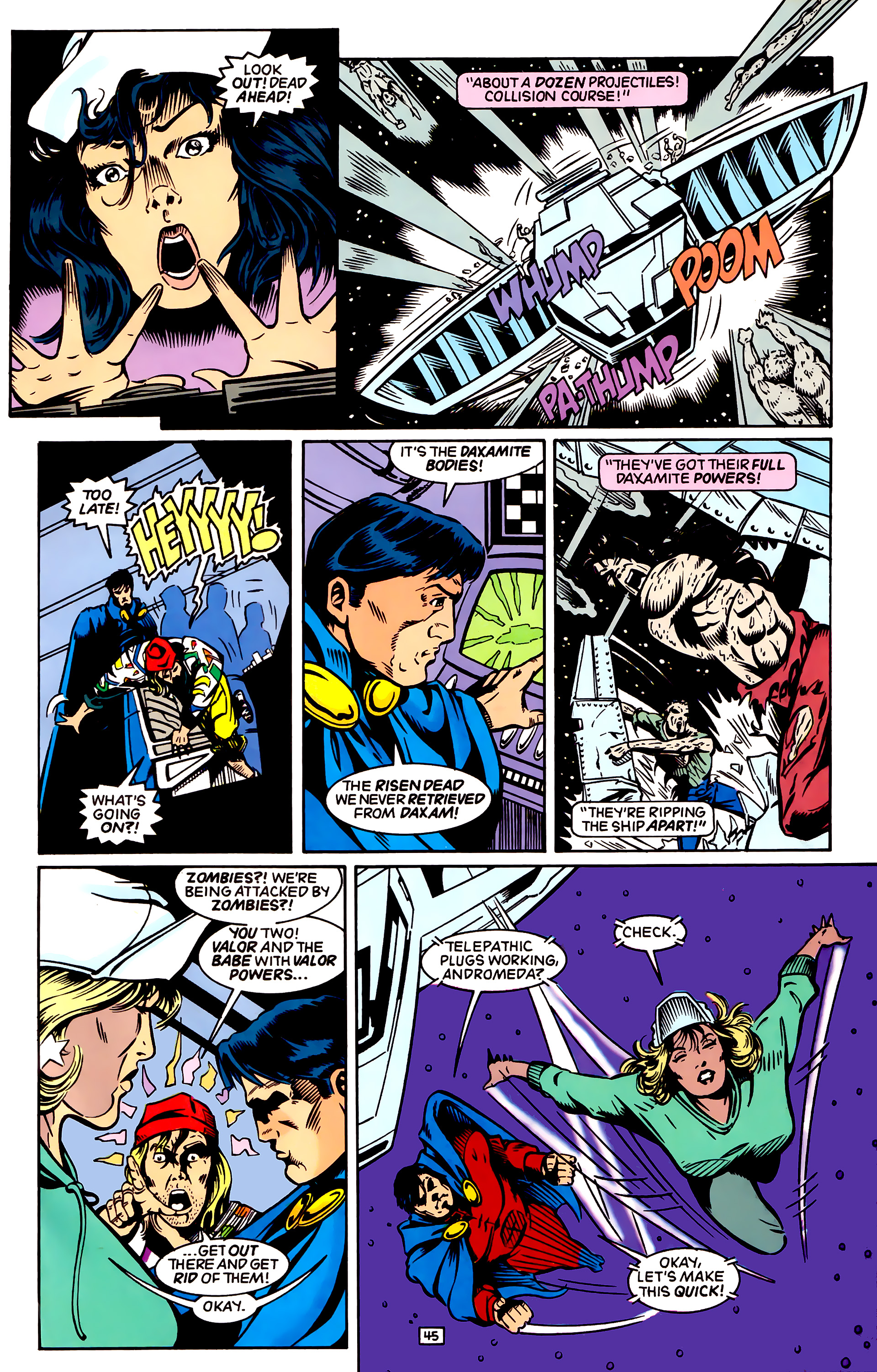 Legion of Super-Heroes (1989) _Annual_4 Page 45