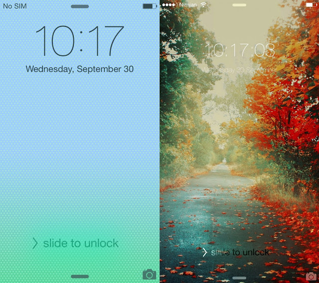 Change the look of your clock, CC, NC, Dock, Transition, Animations, StatusBar and many more...(Springtomize3)