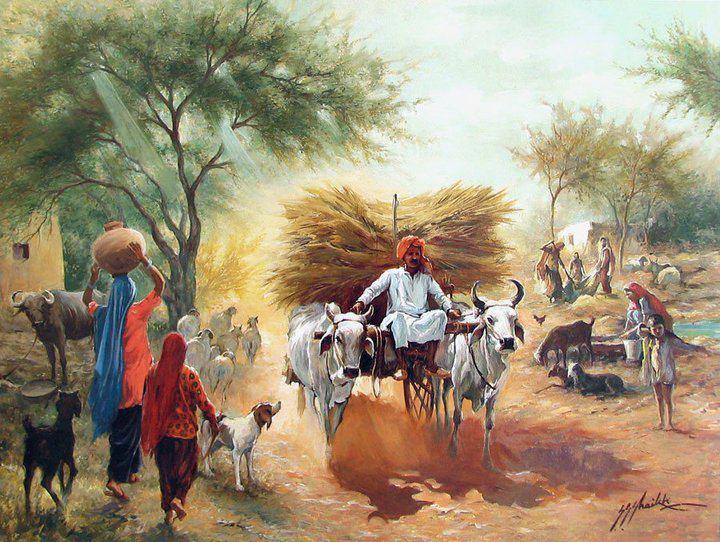 Ghazipurwala Obaid Ghazipur Village Life More Natural